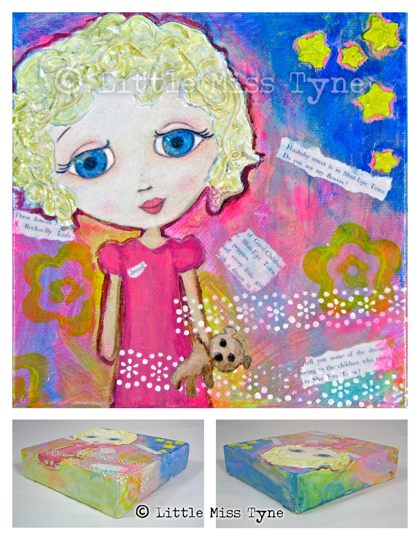 Little Miss Tyne Painting - Dream